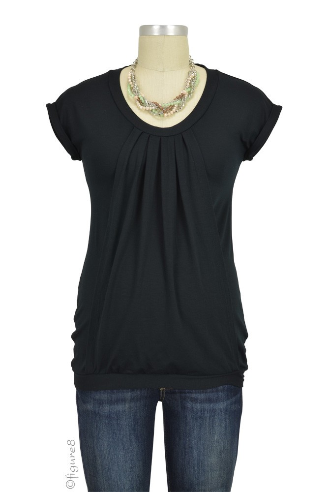 Manon Nursing Top (Black)