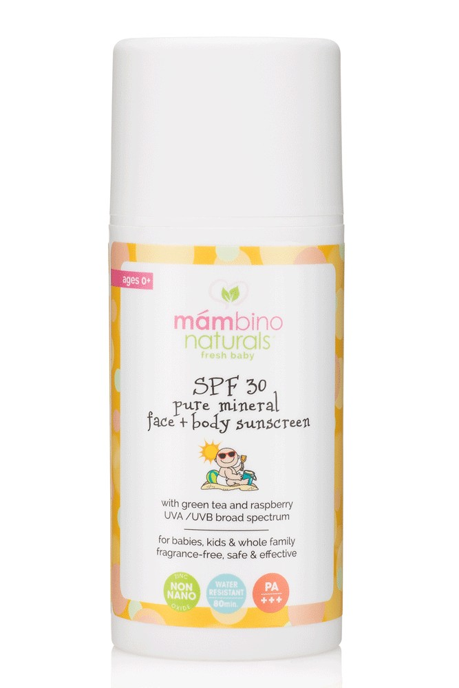 Mambino Organics Spf 30 Baby Amp Kids Natural Mineral Sunscreen