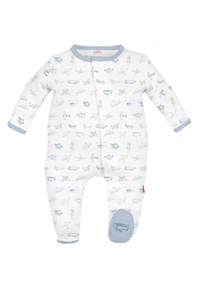 Magnificent Baby Airplanes Baby Boy Footie (Airplanes)