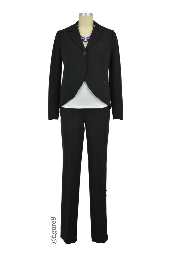 881aecbc8ba Madison One-Button Maternity Suit Jacket in Black by Jules   Jim