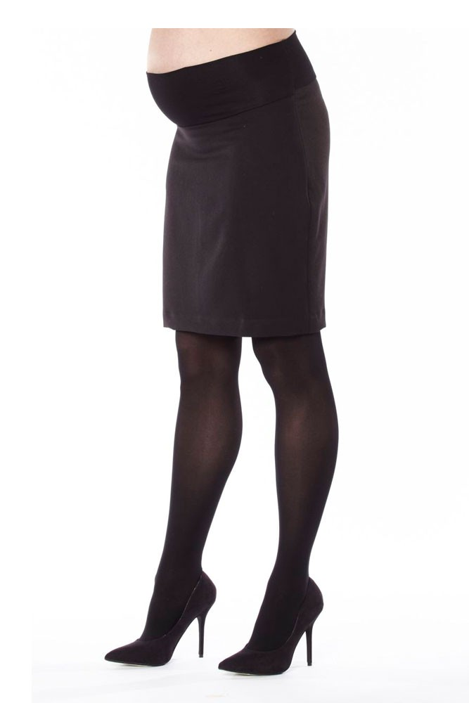 Madison Classic Maternity Suit Skirt (Black)