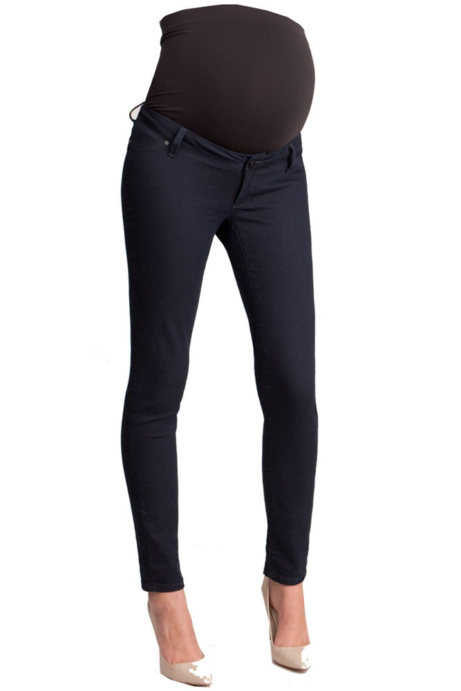 Review of Seraphine Gerie - Over-Bump Ripped Skinny Maternity Jeans in Light Vintage by J. B. in Rancho Cucamonga, CA. My pre-pregnancy size is a true 24/25 (depending on the brand).