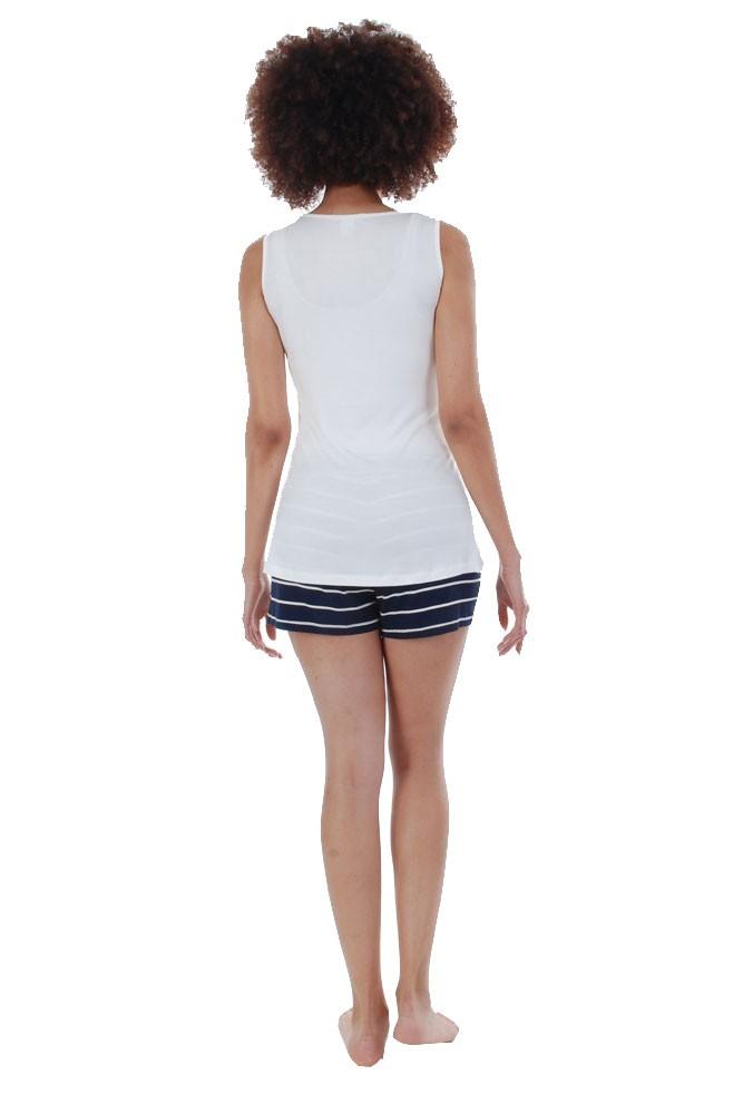 6bbf4f21e77cb Adalia 5-Pc Nursing PJ Short Set with Baby Gown   Gift Bag in Navy ...