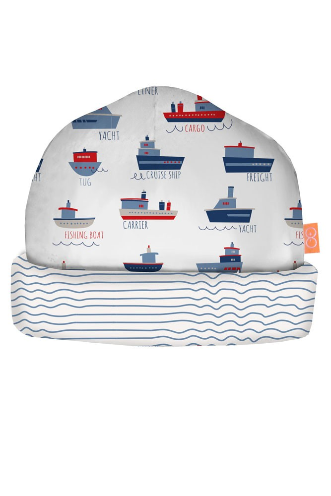 Magnificent Baby Reversible Baby Cap (Ahoy Sailor)
