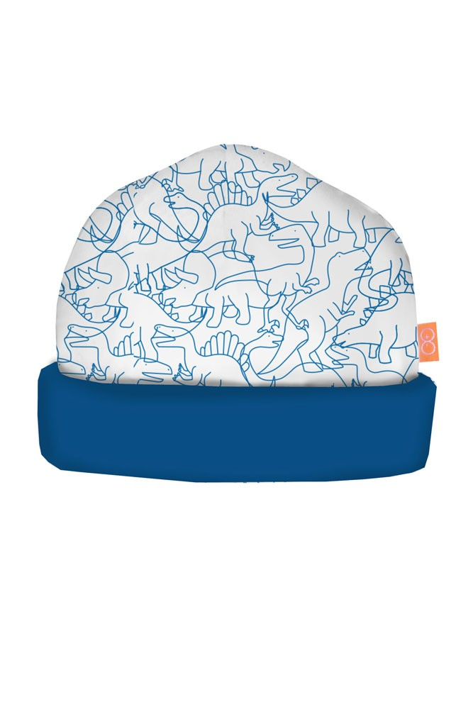Magnificent Baby Magnetic Me™ Boy Reversible Cap (Dino Print)