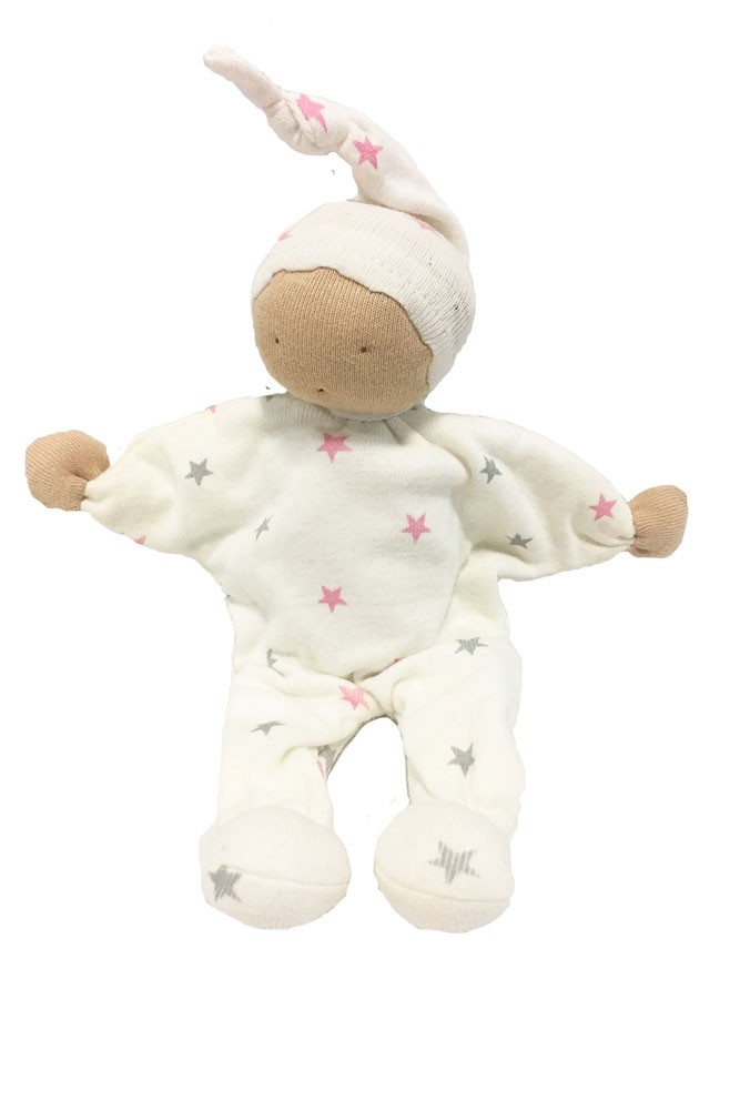 Under the Nile Organic Scrappy Buddy (1 piece/ color may vary) (Girl)