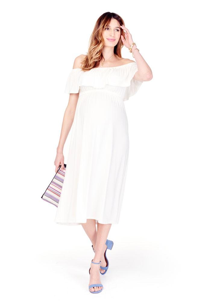 Maternity Ivory Dress