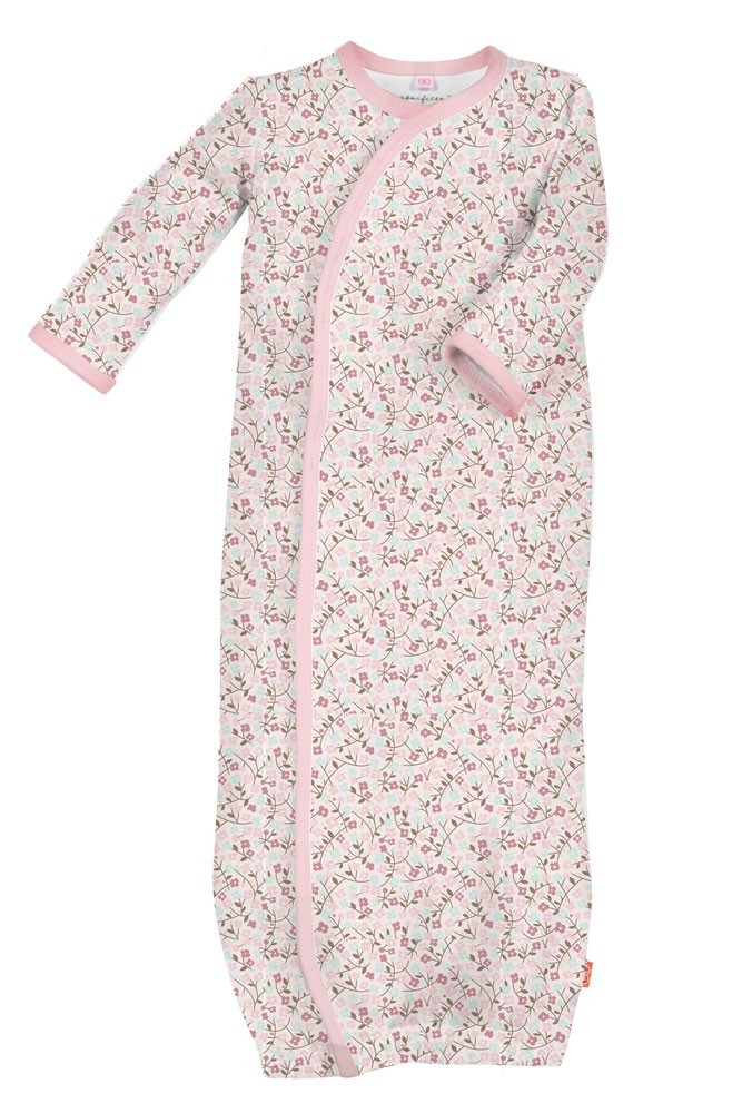 Magnificent Baby Magnetic Me™ Baby Girl's Bedford Floral Gown (Bedford Floral)