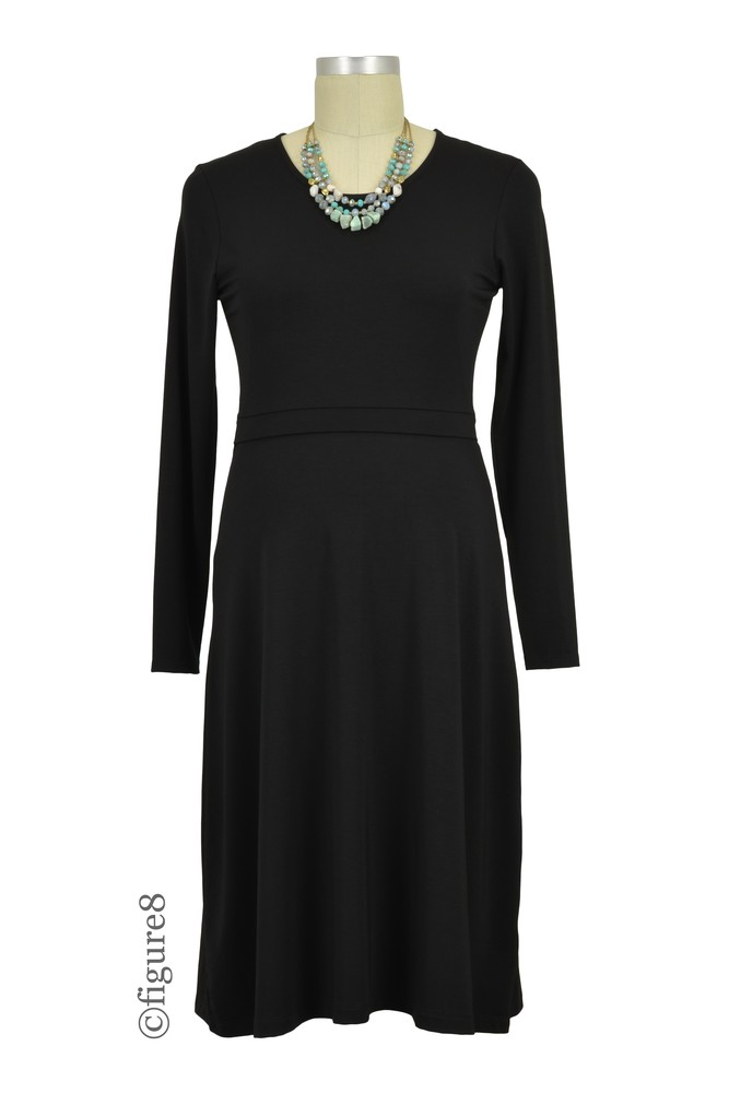 Boob Design Kelly Maternity & Nursing Dress (Black)