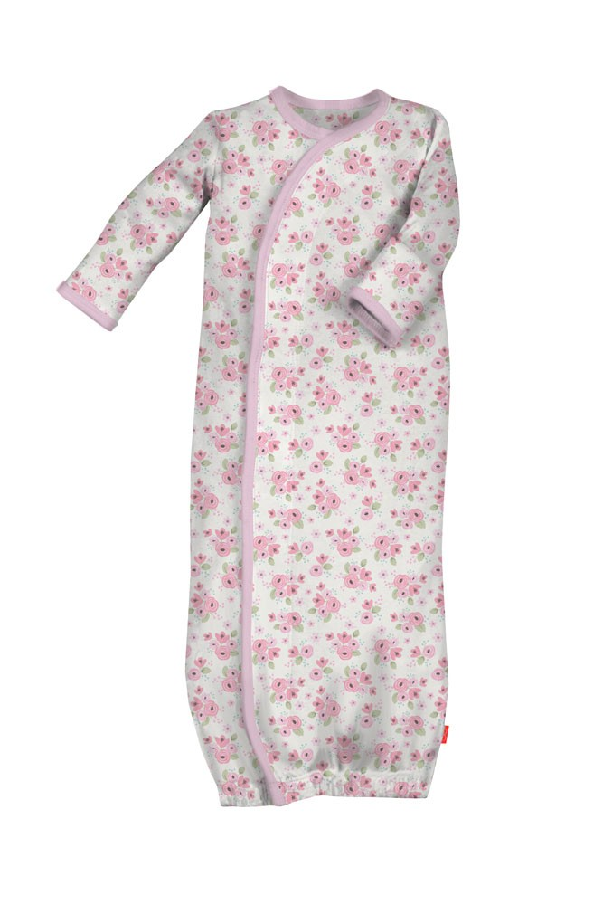 Magnificent Baby Magnetic Me™ Baby Girl Gown (Kensington Floral)