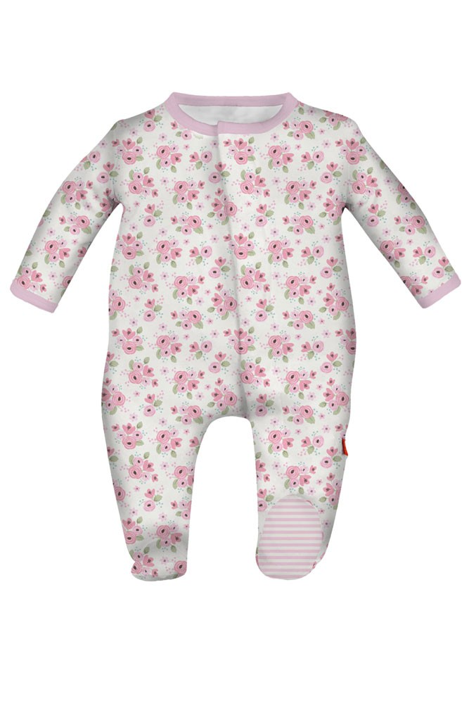 Magnificent Baby Magnetic Me™ Baby Girl Footie (Kensington Floral)