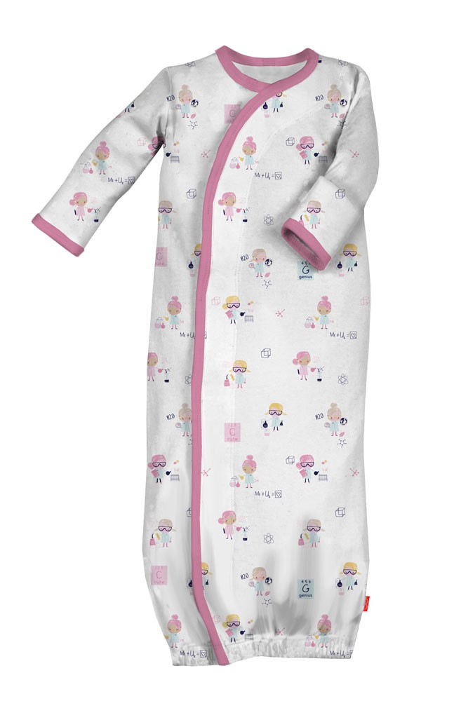 Magnificent Baby Magnetic Me™ Baby Girl Gown (Girl Genuis)