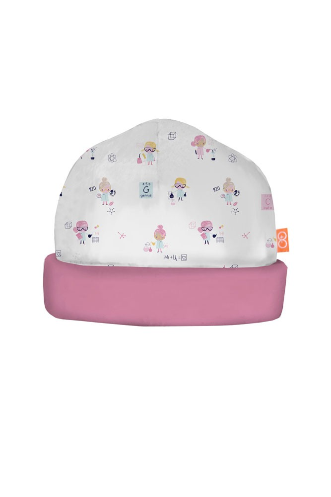 Magnificent Baby Magnetic Me™ Baby Girl Reversible Hat (Girl Genuis)