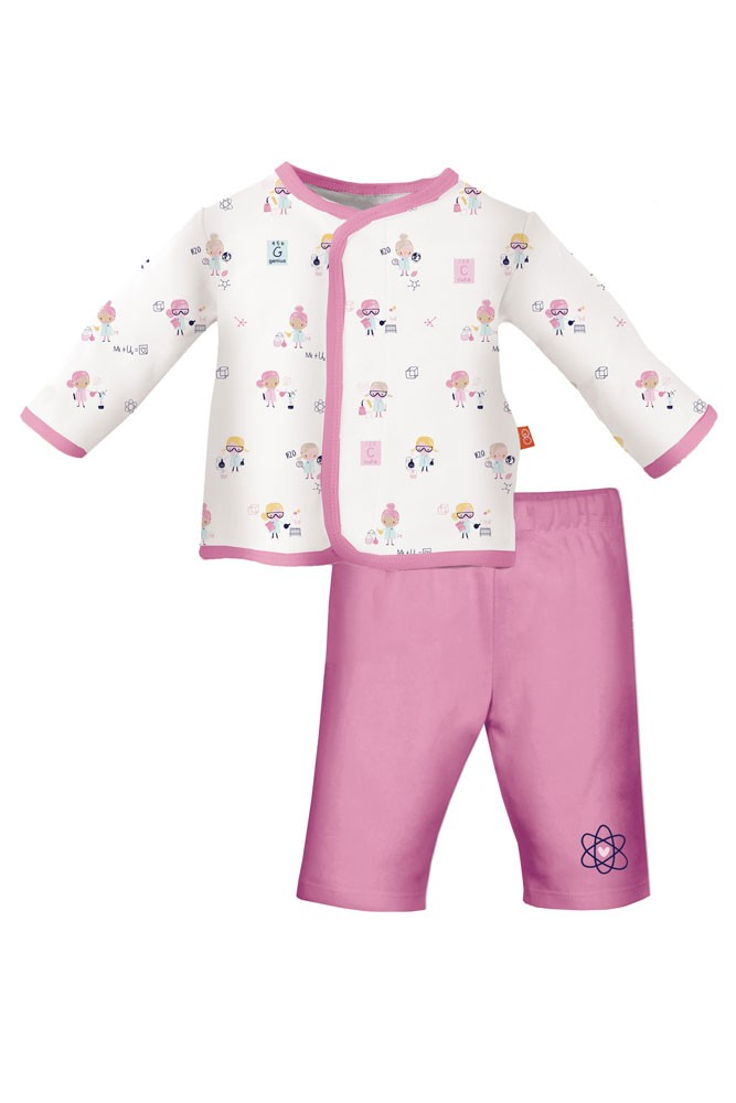 Magnificent Baby Magnetic Me™ Baby Girl Top & Pant Set (Girl Genuis)
