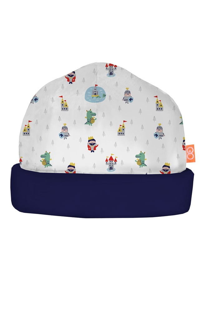 Magnificent Baby Magnetic Me™ Baby Boy Reversible Hat (Good Knight)
