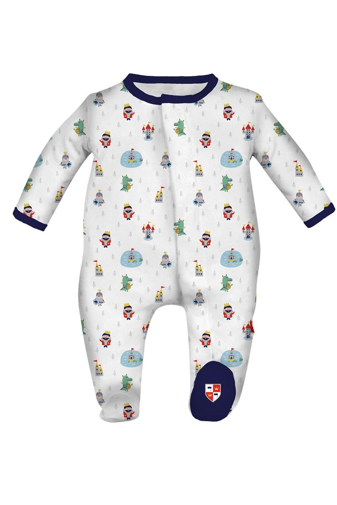 Magnificent Baby Magnetic Me™ Baby Boy Footie (Good Knight)