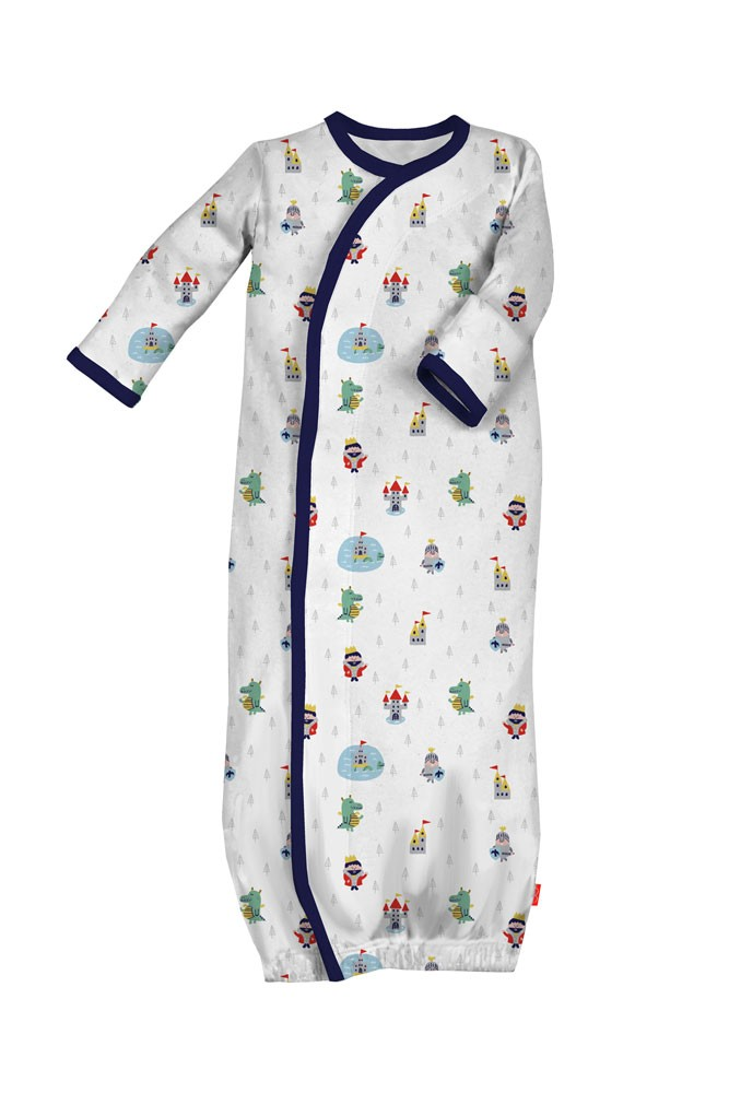 Magnificent Baby Magnetic Me™ Baby Boy Gown (Good Knight)