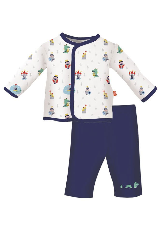 Magnificent Baby Magnetic Me™ Baby Boy Top Set (Good Knight)
