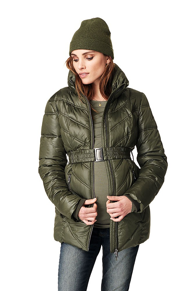 Lenny Maternity Jacket (Dark Army)
