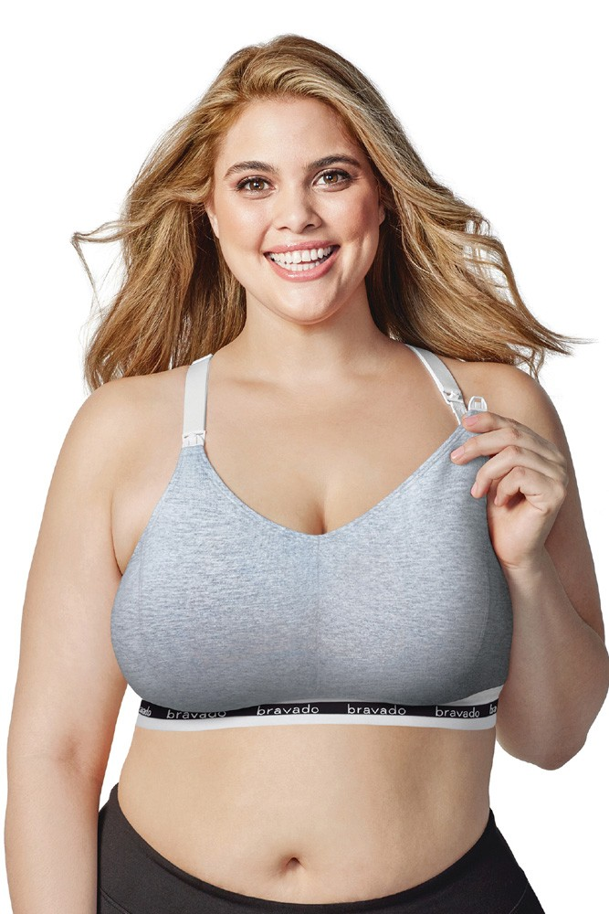 Bravado Designs Original Nursing Bra - Full Cup (Dove Heather)