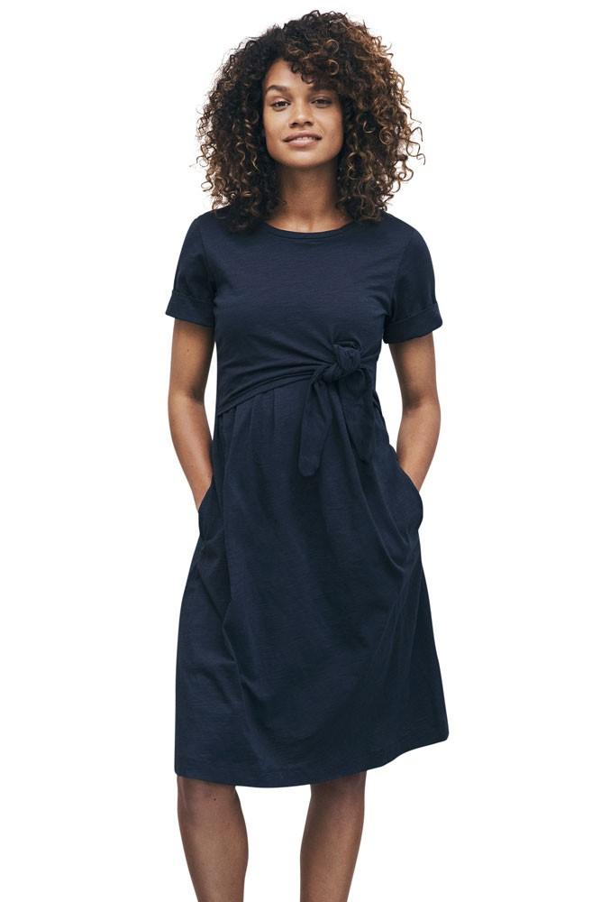 37ec42fa9b Boob Design Suki Organic Cotton Slub Maternity   Nursing Dress (Midnight  Blue)