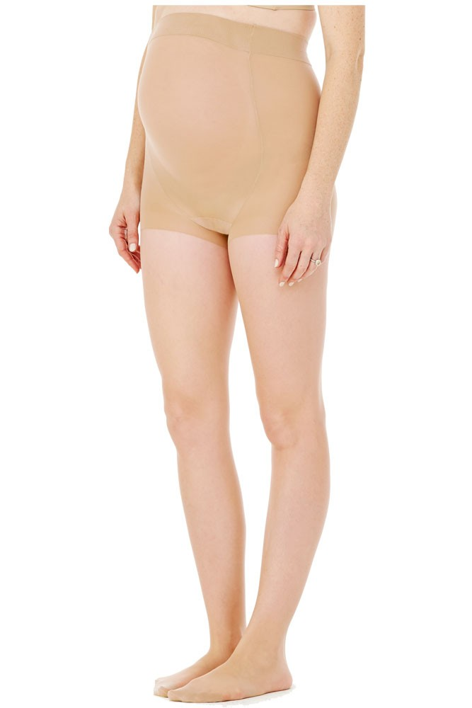 Ingrid & Isabel Sheer Maternity Pantyhose (Nude)