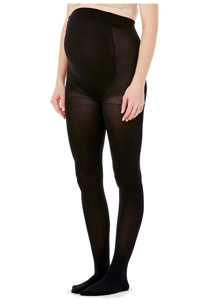 Ingrid Amp Isabel Opaque Maternity Tight In Black