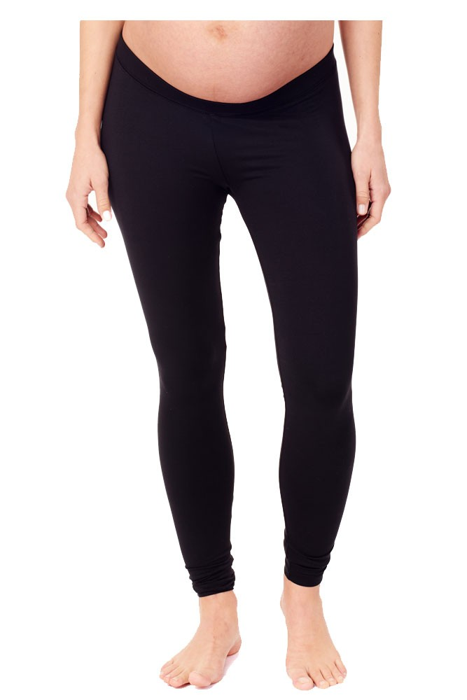 Ingrid & Isabel Underbelly Maternity Leggings (Black)