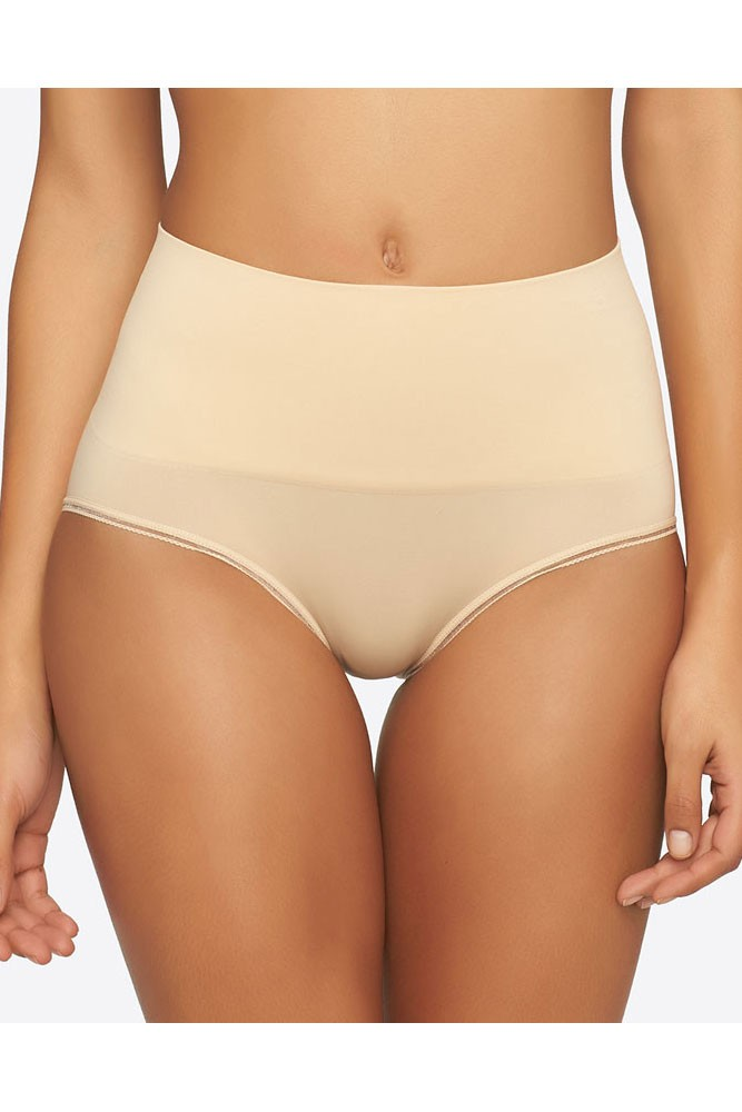 Yummie Seamlessly Shaped Ultralight Nylon Brief in Frappe ...
