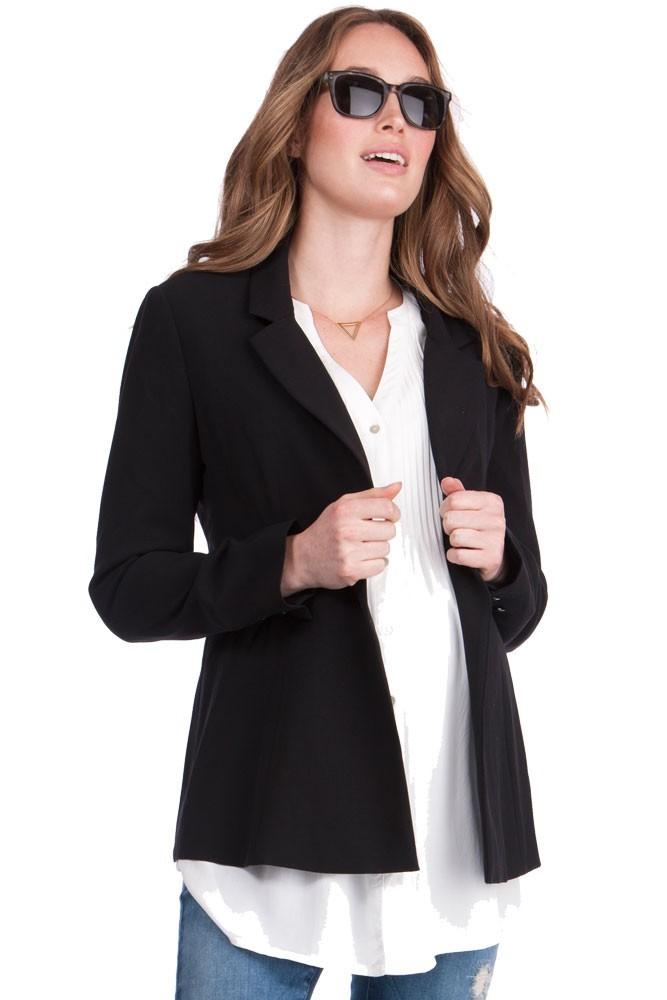 d77ce3b7a34 Seraphine Classic Ponte Maternity 3-pc. Suit Set in Black
