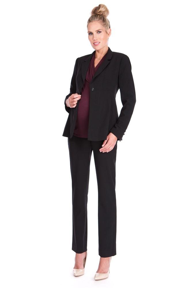 cde86c28b3797 Seraphine Classic Ponte Maternity 3-pc. Suit Set in Black