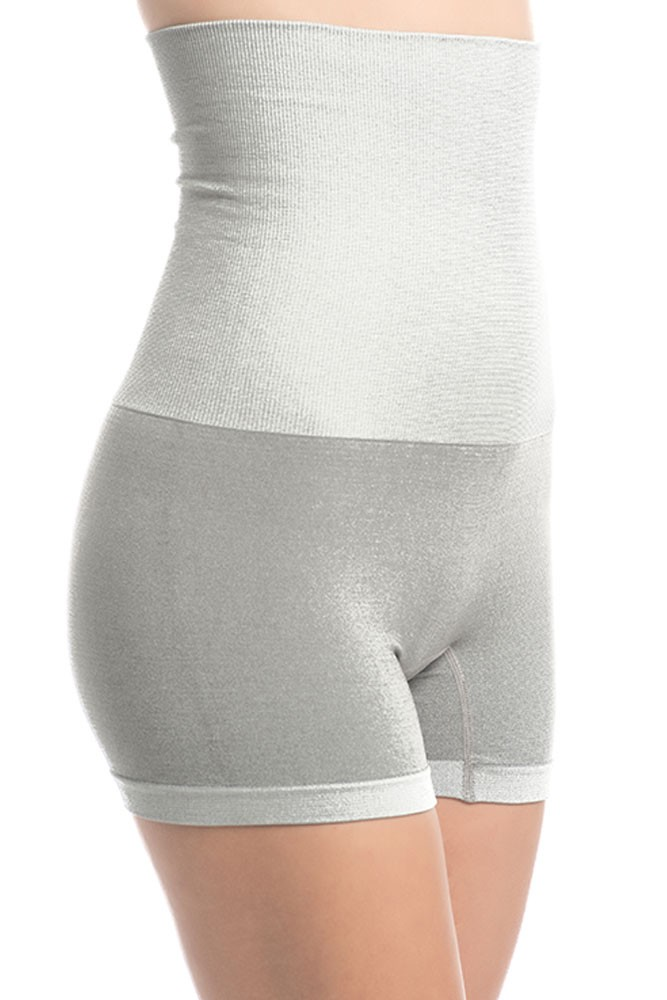 UpSpring Charcoal Fusion Postpartum Belly Slimming Boyshort (Grey)