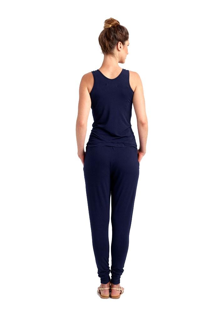 Marni Nursing Jumpsuit In Navy Blue By Loyal Hana