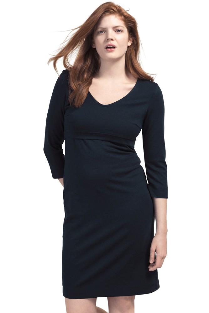 18d83666ff287 Boob Design Essential Ponte Nursing Dress in Midnight Blue
