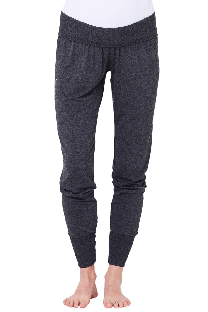 Kay Jersey  Lounge Maternity Pant (Dark Charcoal)