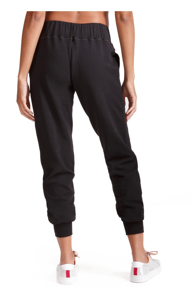 Ingrid & Isabel Knit Active Jogger (Black)