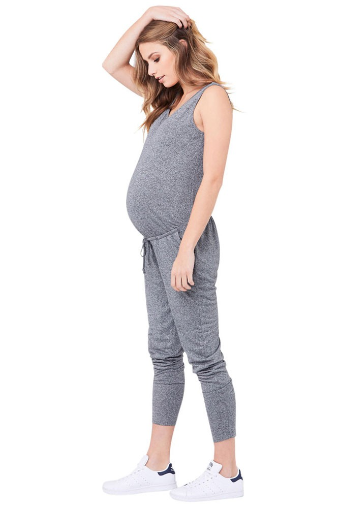 c95d6b4e5fd Ripe Relaxed Fit Jersey Jumpsuit in Grey Marle by Ripe Maternity